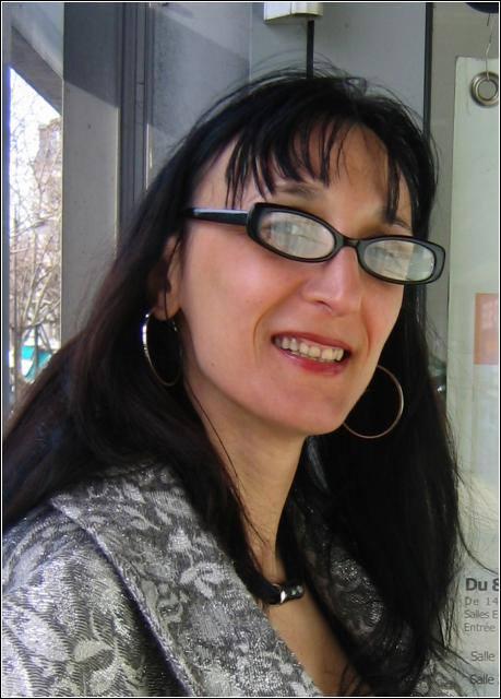 Irena PASKALI (1969) Germany, applied on the OSTEN BIENNIAL of DRAWING Skopje 2016