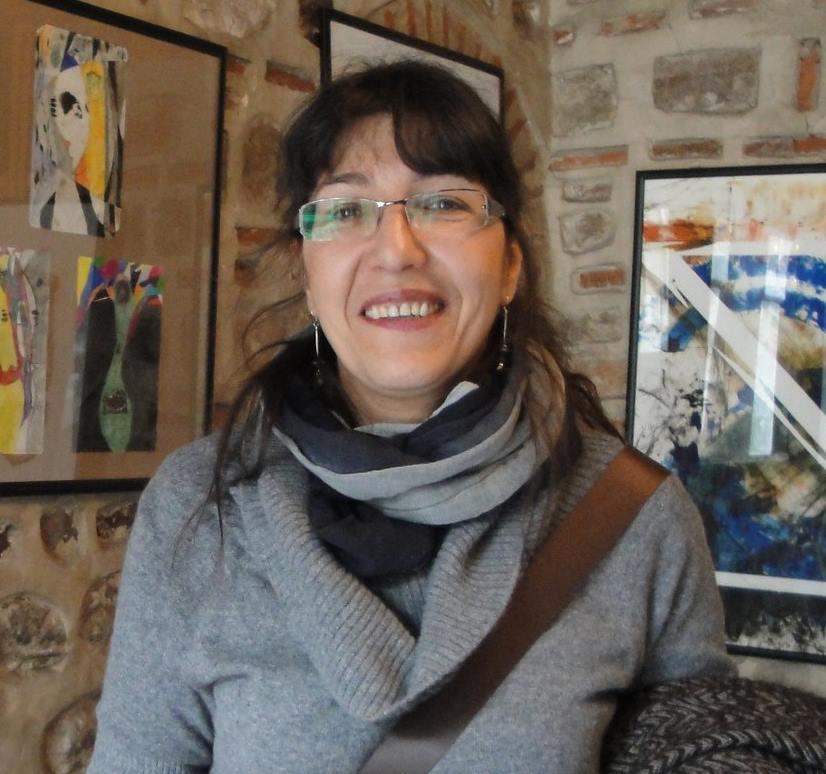 Rosica Lazeska (1956) Macedonia, applied on the  OSTEN BIENNIAL of DRAWING Skopje 2016