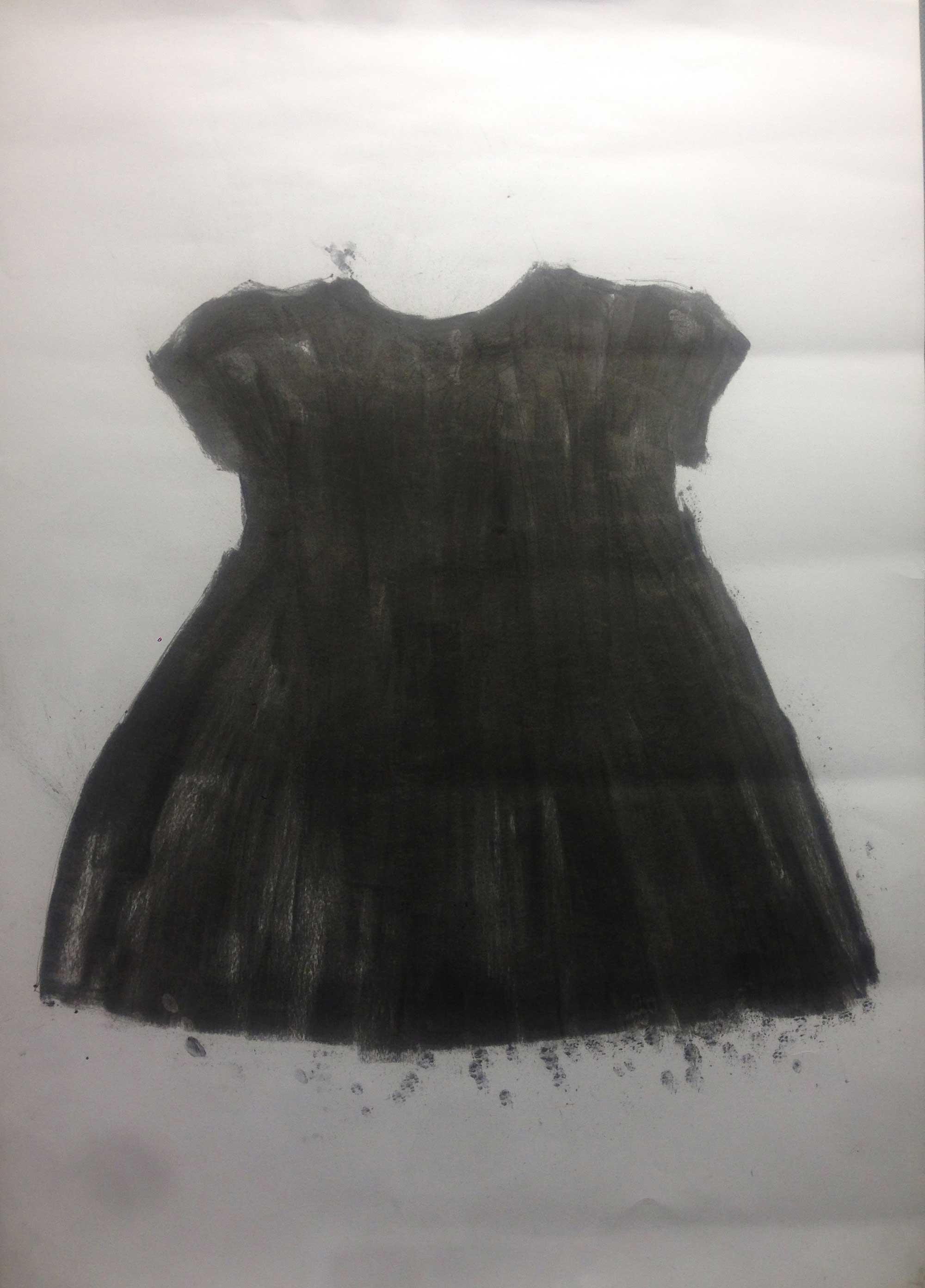 Sonja B. MESHER (1947) UK  Black (2015) Mixed media, 61 x 91cm