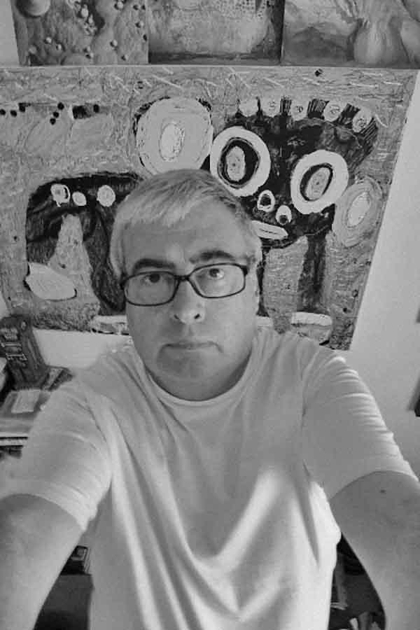 Stephen MUMBERSON (1955) UK, applied on the OSTEN BIENNIAL of DRAWING Skopje 2016