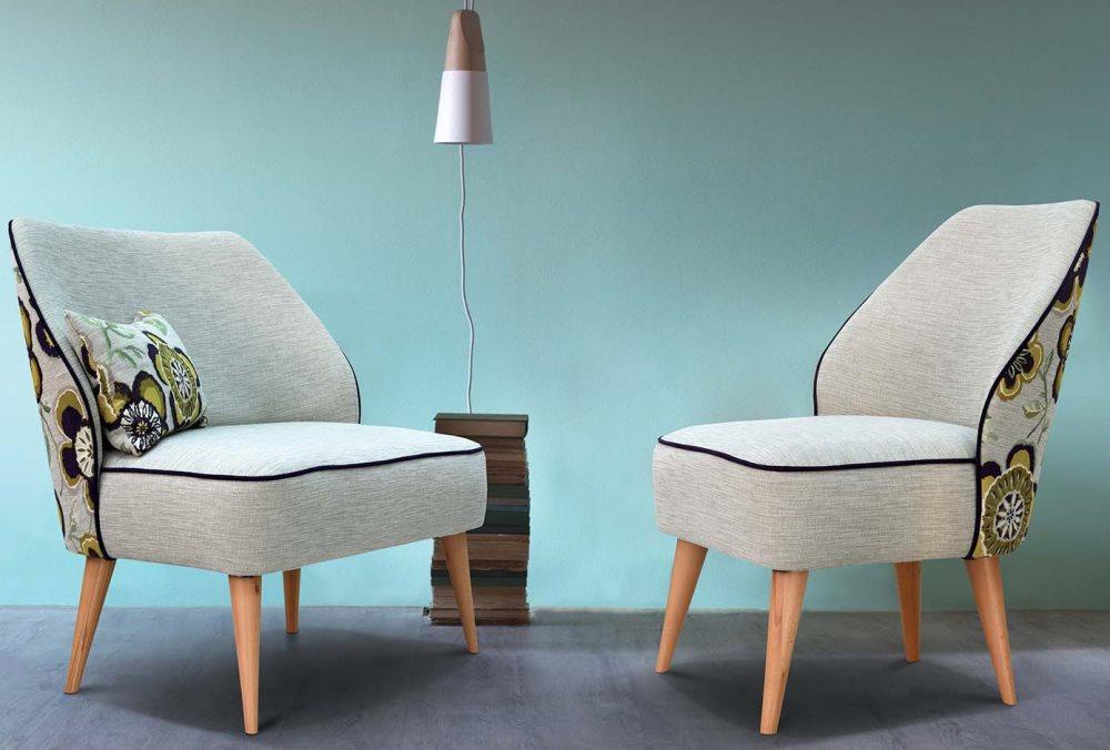 Лејс фотелја и двосед