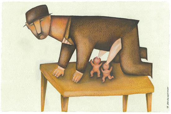 Трета награда за карикатура - РУМЕН ДРАГОСТИНОВ, Бугарија