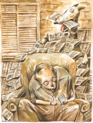 Claudio Antonio GOMES (Brazil) – the First Award for Cartoon