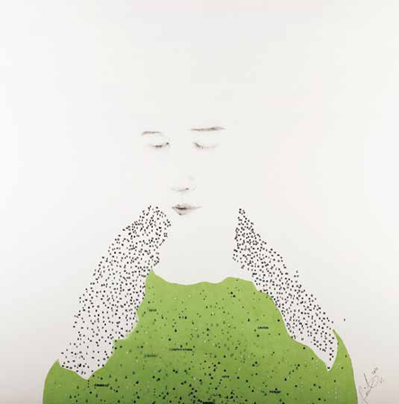 Young Author Award from the collection of Kim Seung Yon - PAIK YONG SU, Korea