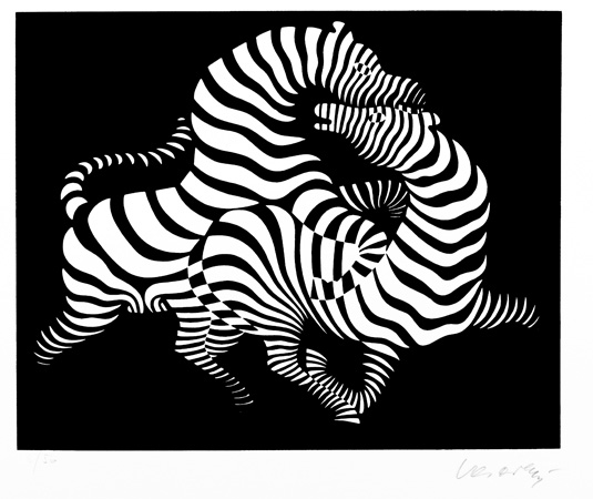 Цртеж, пастел, 22x30см.
